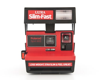 POLAROID Spirit 600 ULTRA Slim-Fast Camera - Lose Weight, Stay Slim & Feel Great - Special Edition - tested and working