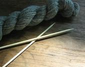 BrySpun knitting needles, 10 inch single point, sizes 2 - 10.5