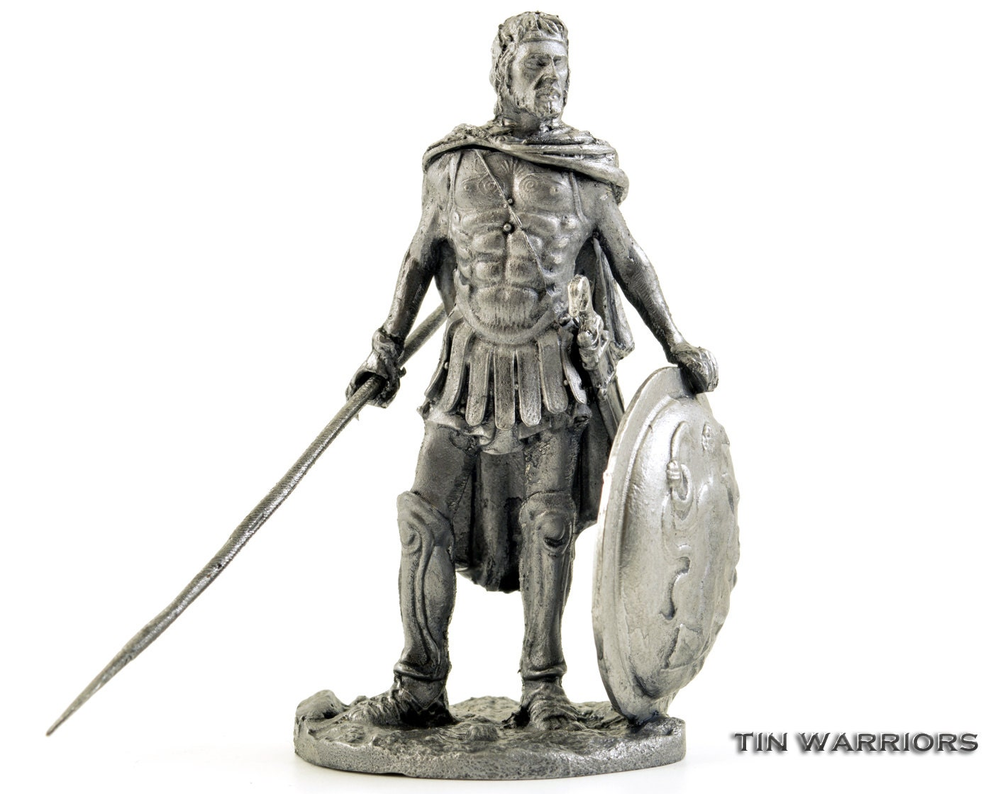Greece Odysseus King Of Ithaca Metal Sculpture Collection