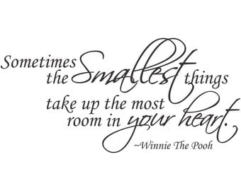 Winnie The Pooh Wall Decal Etsy