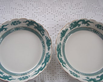 Two Booth English China Desert Bowls