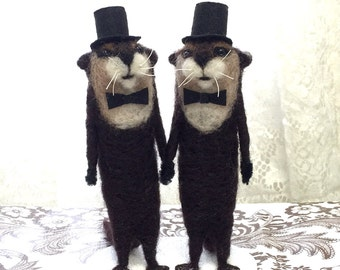 Same Sex Custom Wedding Cake Toppers