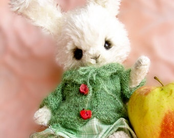 step by step crocheting guide to make SENYA the rabbit