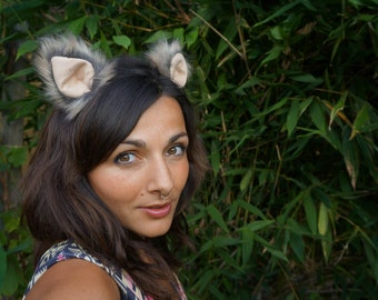 Grey Magic, Festival, Burningman, Cosplay, Costume Ears, Realistic Animal Ears-7