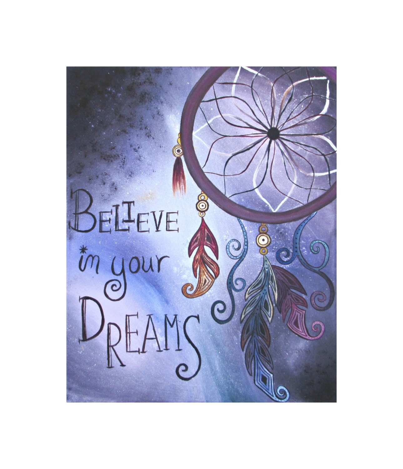 Dream Catcher With Quote