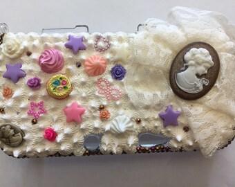 The white queen nintendo 3Ds XL case