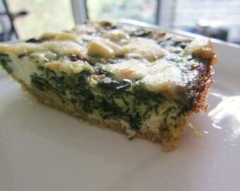 Quinoa Spinach Bake, 100% Gluten Free, Vegan,  Organic Quinoa Mix