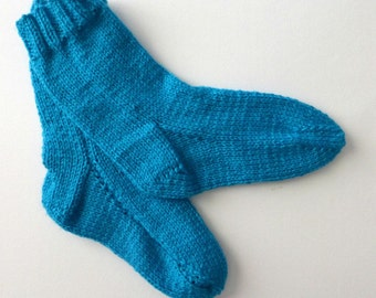Two Needles Knitting Socks Patterns. Instant download