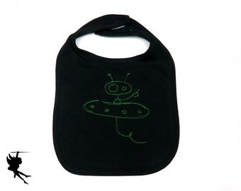 ALIEN Baby Bib Interlock