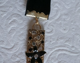 Vintage Book Marks Upcycled Costume Jewelry