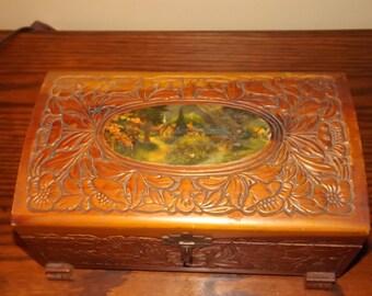 1950's Keepsake or Jewelry Box