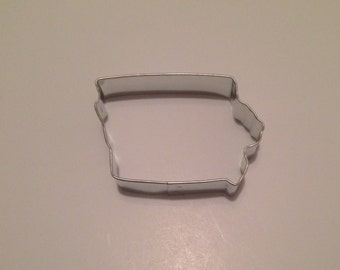 "2.75"" State of Iowa Cookie Cutter"
