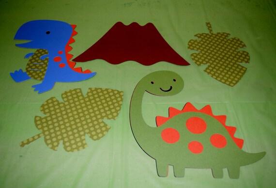 Dinosaur wall decorations fun ideas for birthday baby shower - Decorations murales originales ...
