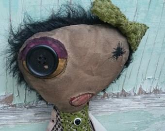 Mindy Handmade Art Doll