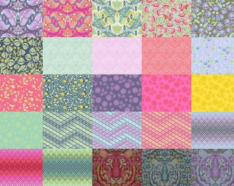 Jelly Roll (40) Design Roll  from EDEN by Tula Pink for Free Spirit Manufacturer cut COMPLETE