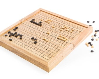 Go - Wooden board game