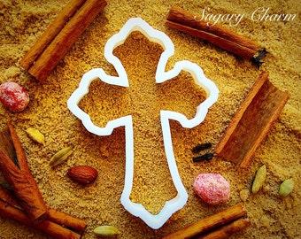 Christian cross cookie cutter
