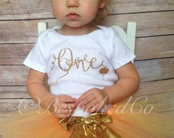 Fall first birthday outfit /Gold one birthday outfit /Fall One outfit/Pumpkin patch birthday outfit/Pumpkin outfit