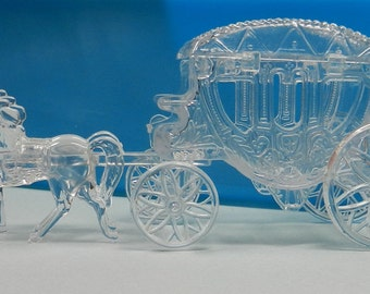 Cinderella's Carriage, Horse and Buggy, Cinderella, Fairy Tale, Party Decoration, Princess Carriage