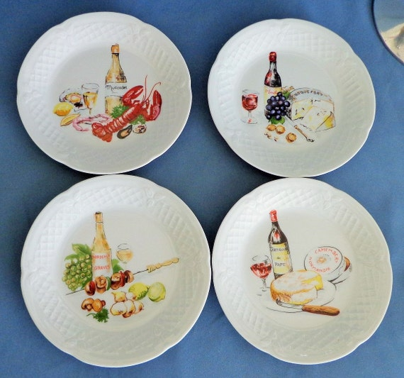 Philippe deshoulieres wine and cheese canape or appetizer for Philippe deshoulieres canape plates
