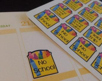 Back to School Planner Stickers Erin Condren Kindergarten Pre-K Preschool