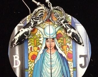 The Priestess Goddess Earrings