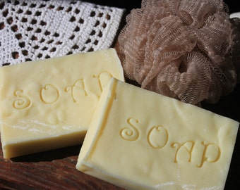 Soap-Handmade Unscented Natural Soap