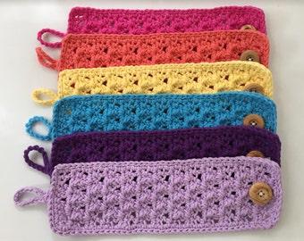 Lacy Crochet Mug Cozy - 3 for 24
