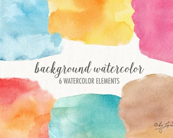 background watercolor - digital clipart - for photography, personal use and small business project