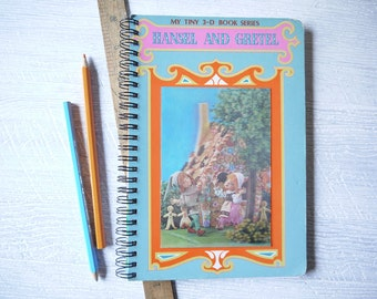 Journal - Hansel & Gretel - Handmade From Retro Storybook