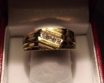 Men's Diamond Ring (2046FJ)