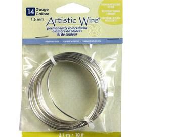 Artist Wire 14 Gauge 1.6mm Artistic Wire 10 feet