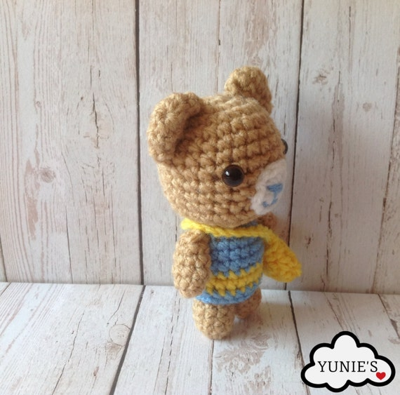 Crochet Pattern For Doll Sling : Crochet amigurumi pattern, crochet doll pattern: Bear with ...