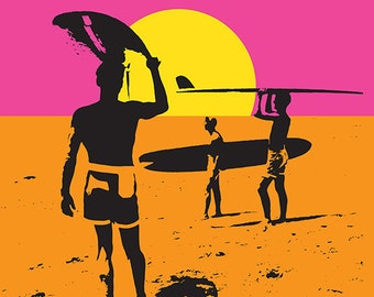 Sea Isle City, New Jersey - Endless Summer - Original Movie Poster (Art Prints available in multiple sizes)
