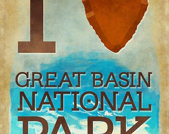 I Heart Great Basin National Park (Art Prints available in multiple sizes)