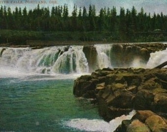 Willamette Falls in Portland (Art Prints available in multiple sizes)