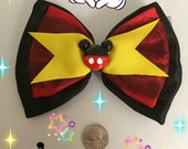 Disney Bound Mickey Inspired Hair Bow