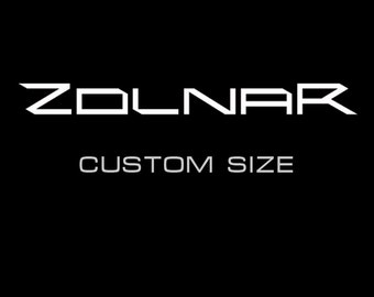 Custom size, patterns and other adjustments
