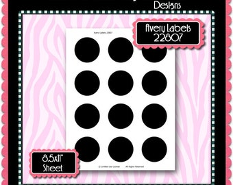 Avery 22807 etsy 2 circles avery labels 22807 template instant download psd and png formats temp572 pronofoot35fo Images
