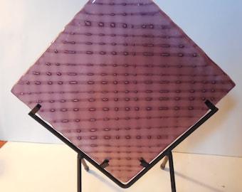 Eclectic Purple Bubble Panel