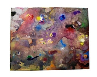Painting CRAMD Art Real Acrylic Beautiful Mixed Media Cool Canvas Awesome Spray Paint Color Artistic Home Decor Furnishing Gift