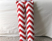 Boot Shaper Stands/Boot Forms - Red Chevron