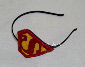 Superman Superwoman Headband