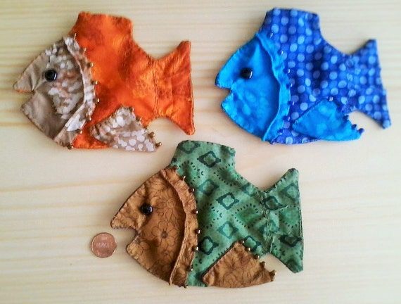fish shaped gift and jewelry pouch