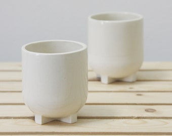 Ceramic espresso cup. White with glossy glaze.Ceramic espresso cup,Modern Espresso Cups, christmas gift guide,unique gift,Housewarming gift