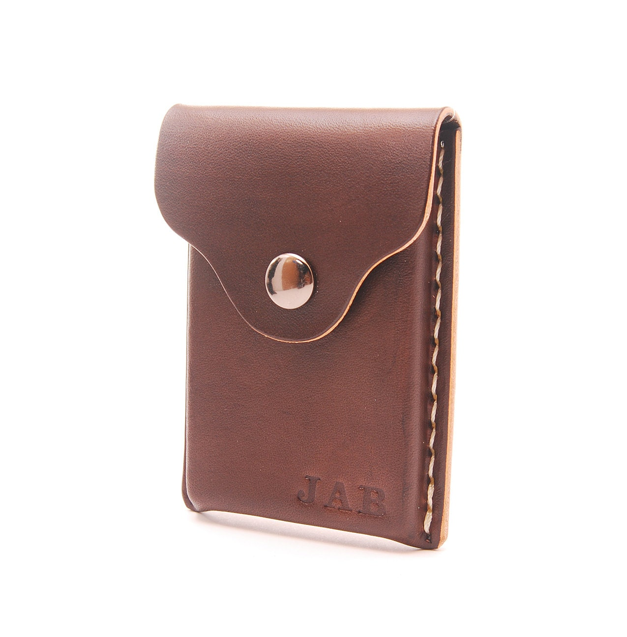 Personalized Handmade Leather Business Card Holder Card Wallet
