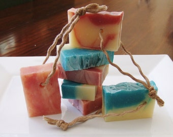 Muddy Paws All Natural Dog Bar Soap-Soap on a Rope-Pet Safe Handmade Dog Bar Soap-Essential Oils to Relieve Itchy Skin & Coat Conditioning