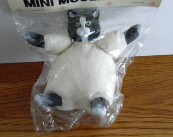 """Craft project.  4 1/2""""  Cat/ animal doll body for you to dress.  Never opened. Doll making, craft supplies"""