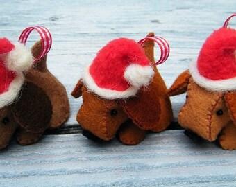 Kersthondjes - compleet viltpakket