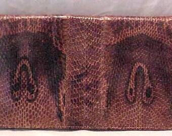 Gorgeous Hooded Cobra Skin Handbag Clutch or Shoulder